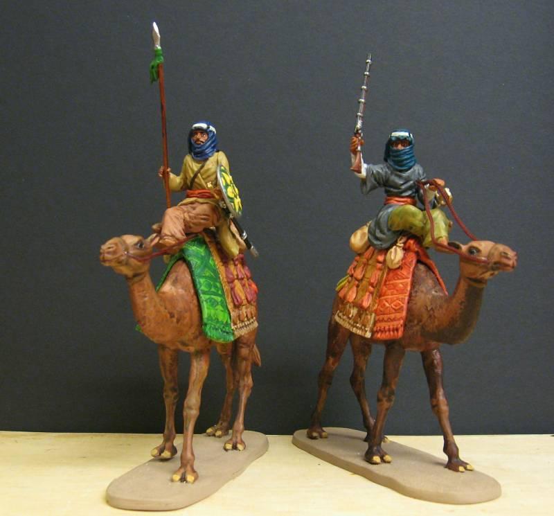 Selbstbemalte 7 cm Figuren von Dio-Horst - Seite 2 Beduin13