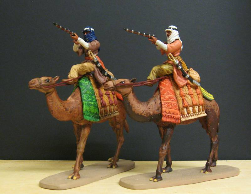 Selbstbemalte 7 cm Figuren von Dio-Horst - Seite 2 Beduin14