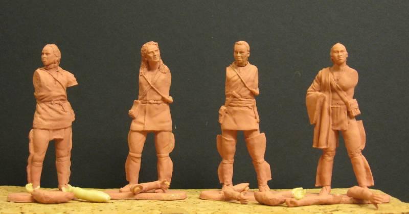 Selbstbemalte 7 cm Figuren von Dio-Horst Kreza_10