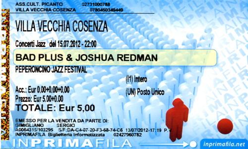 Peperoncino Jazz Festival 2012. Bad_pl10