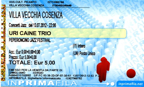 Peperoncino Jazz Festival 2012. Uri_ca10