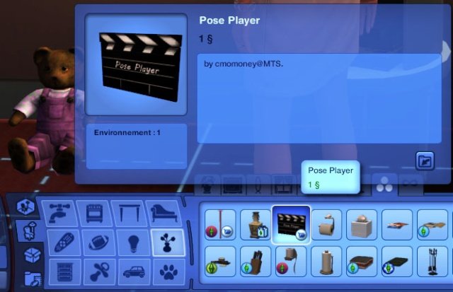 One more slot - [Sims 3] [Débutant] Pose player + One More Slot Pose_p10