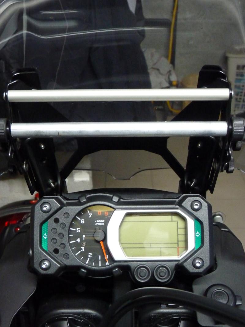 Réglage de la bulle avec tige GPS pour Yamaha XT1200Z Super Tenere Suppor15