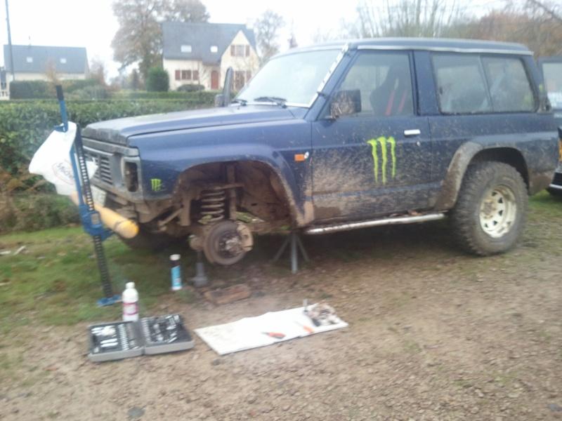 Y60 rehausse +5  pneus MUD PC maison baquets harnais hi lift 2011-110