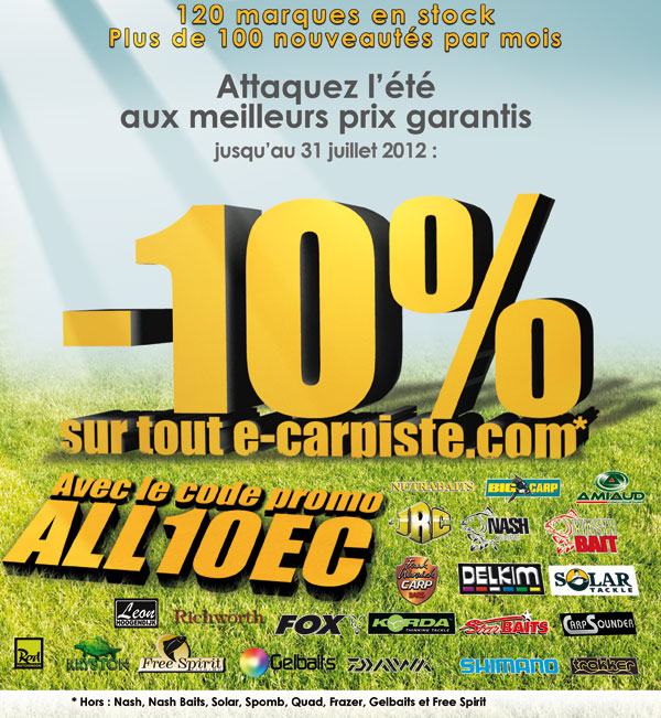 Un ptit code promo  -10% sur E-Carpiste Ete_0210