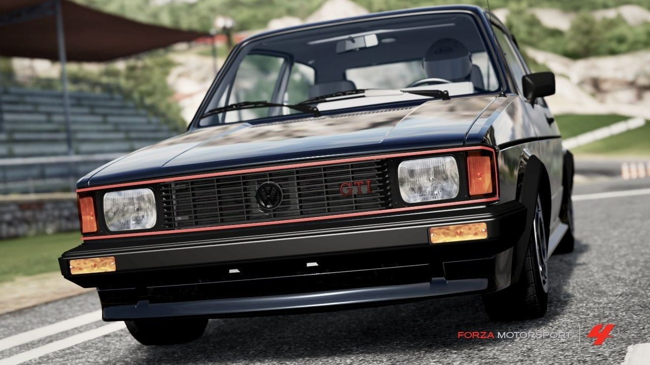 1984 Volkswagen Rabbit Gti Review 1983 Okay Confession Time I Love The It Has Been One Of My Favorite Cars Since First Played Forza 3 Was Lowest Rated Car Then