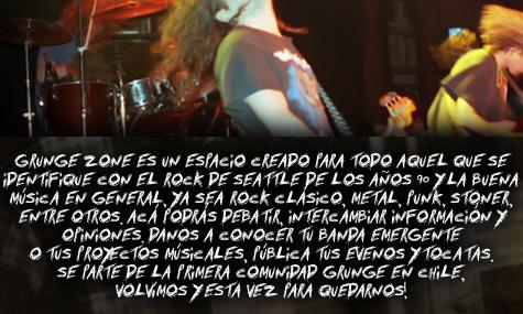 GRUNGE ZONE - La Comunidad del Grunge - Portal Descac12