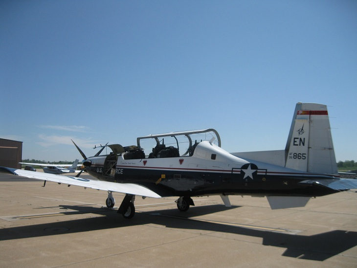 "On the Ramp Right Now:  P-51D ""Swamp Fox"" Visits KCGI  - Page 2 9_19"