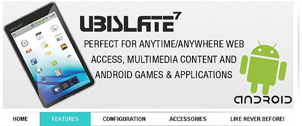 DataWind to soon launch UbiSlate, the retail version of the Aakash tablet Image210