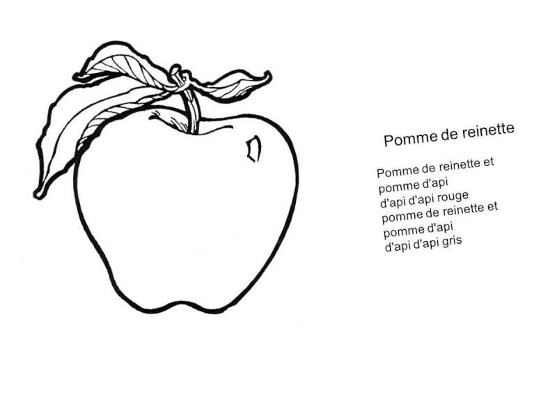 chanson à colorier Pomme_10