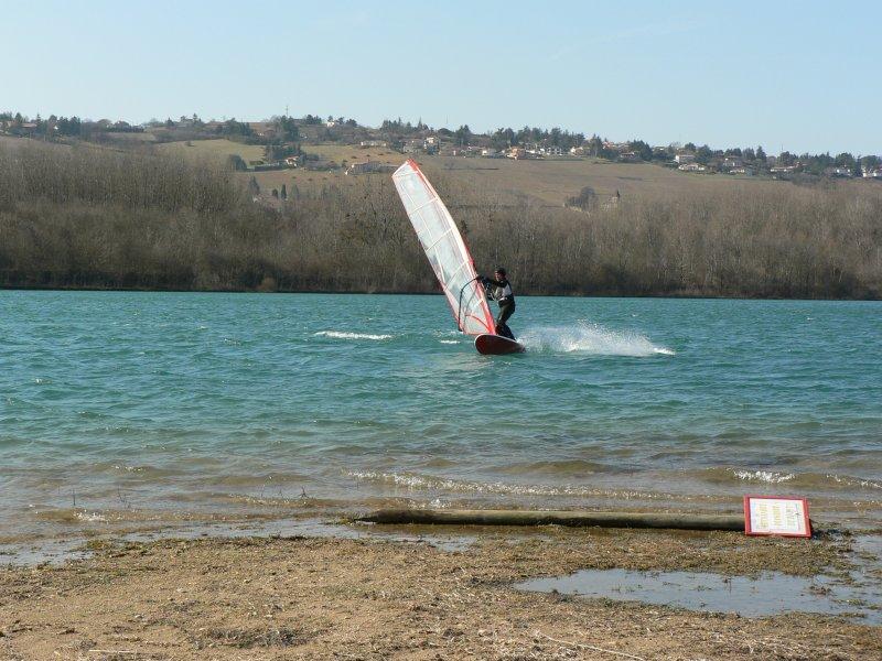 Lac du Colombier le 9 mars Cadre210