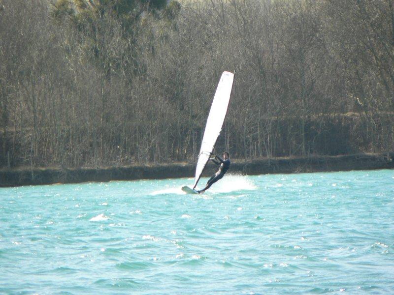 Lac du Colombier le 9 mars Thomas10