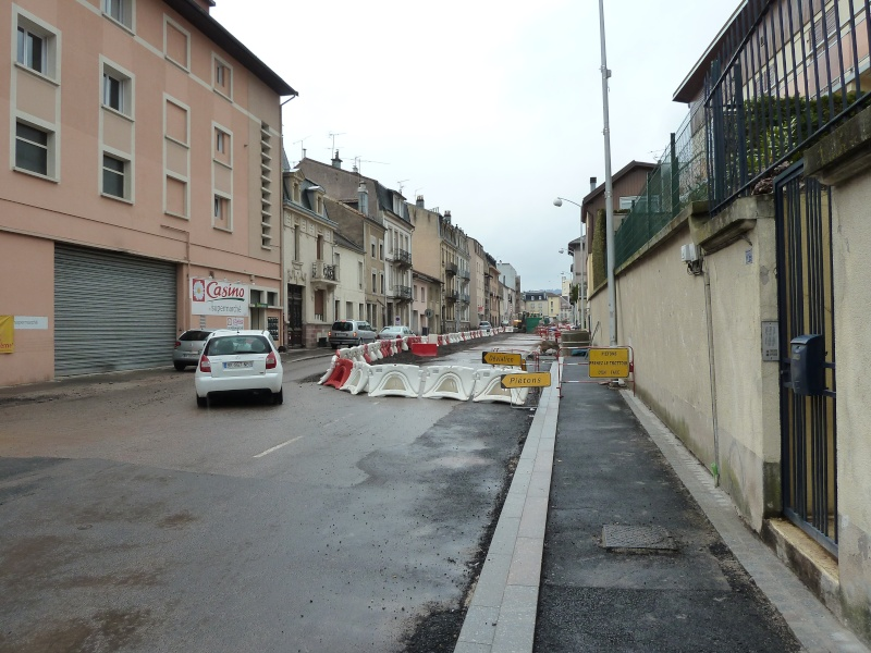 Travaux du Boulevard Thiers Remiremont P1000020
