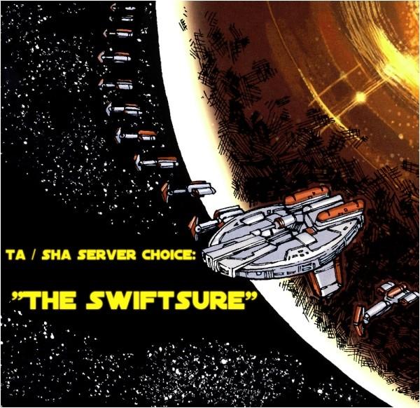 "SHA Server has been chosen, it is ""The Swiftsure"" Untitl10"