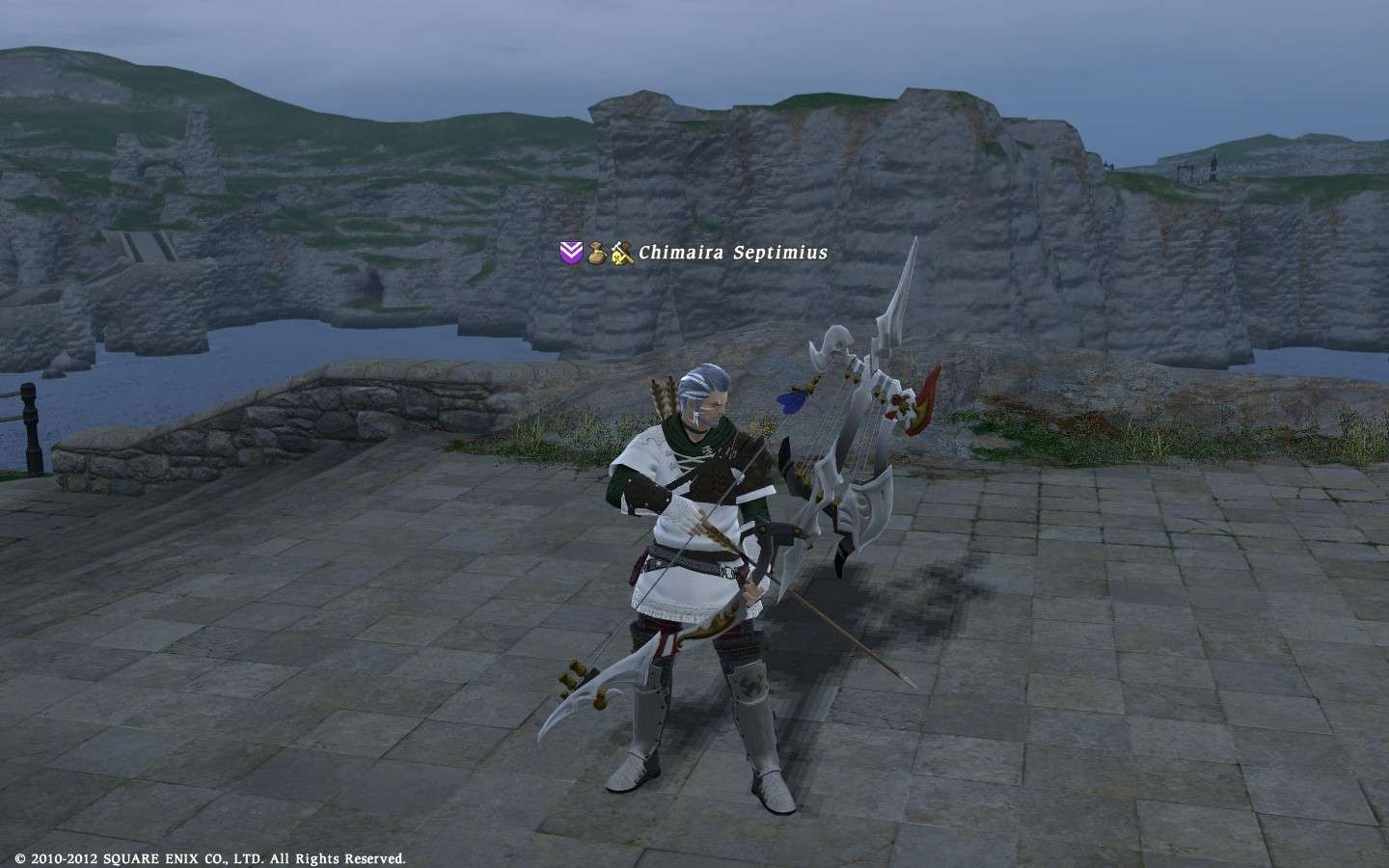 BRD AF Weapon instead Ifrit's Bow Ffxiv_20