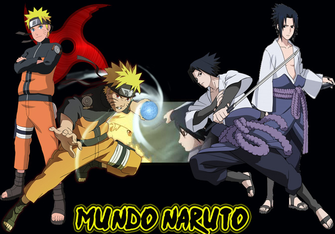 Como colocar o logo passando a aleatoriamente Naruto27