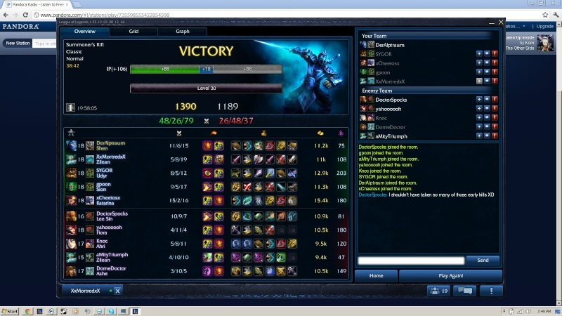 Good Game? 30011