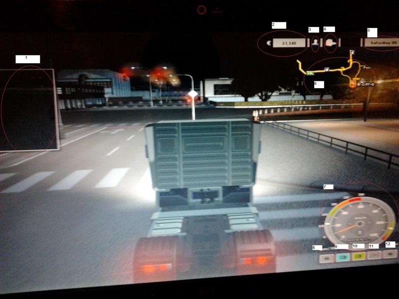 Classificazione schermata del gioco Euro Truck Simulator  114