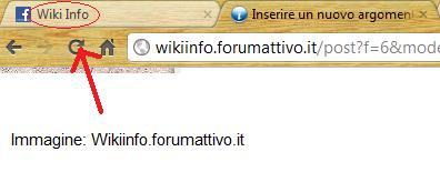 Codice HTML per cambiare la scritta nella barra del browser Barras10