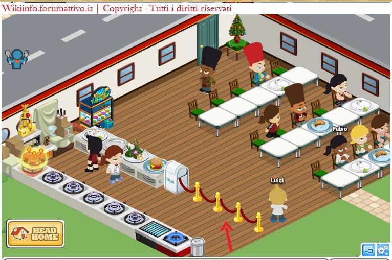 Trucco Café World per dare subito il cibo ai clienti Cafe10