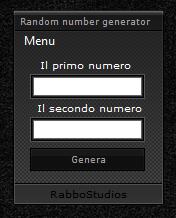 Programma per generare numeri casuali - Random Number Generator Cd8e9410