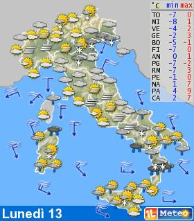 Previsioni meteo 12 febbraio 2012 E7lag410