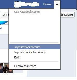 Come cambiare password del profilo Facebook Facebo10