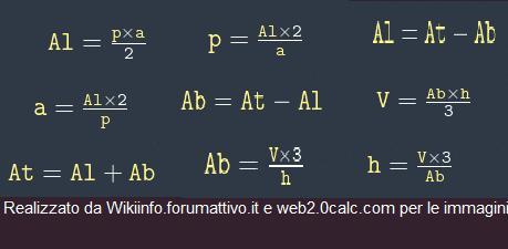 Formule piramide (triangolo solido) Formul10