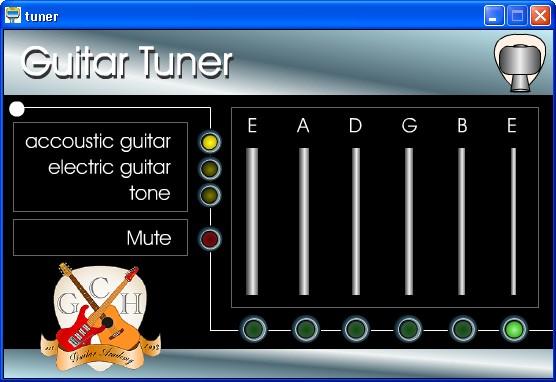 Accordare la propria chitarra con il computer - Free Guitar Tuner Free-g10