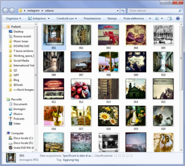Scaricare sul PC le proprie foto di Instagram - Free Istagram Downloader Free-i10