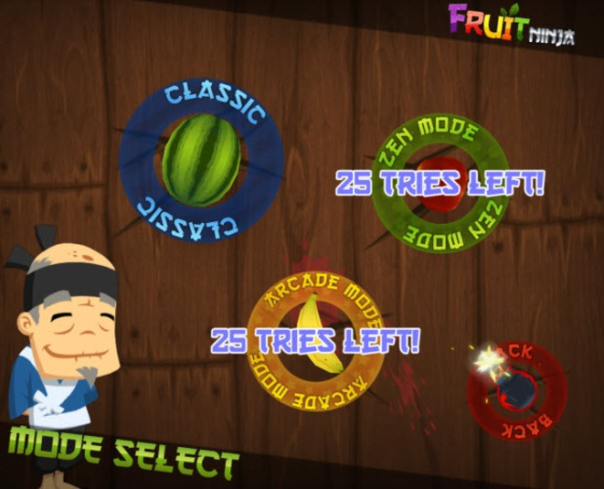 Fruit Ninja disponibile anche per Windows 8 (Metro App)! Fruit-10