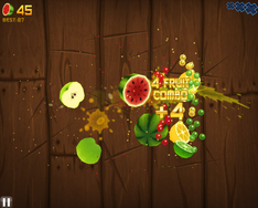 Giochi d'azione: Fruit Ninja HD - download  Fruit-11