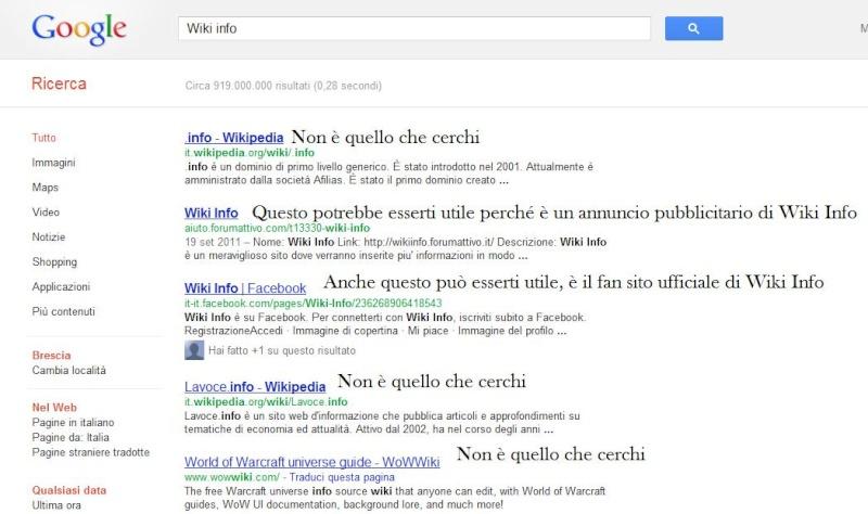 Come trovare ciò che si vuole con Google  Googl110