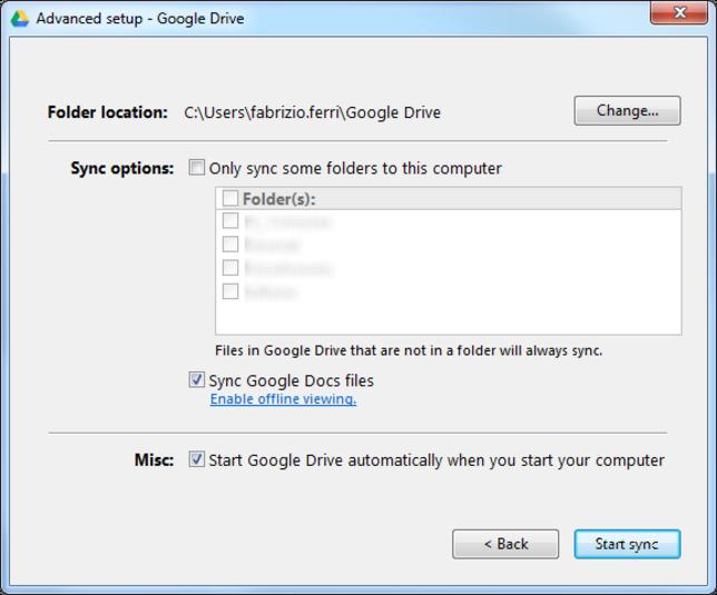 Avere 5 GB su internet - Google Drive Google18