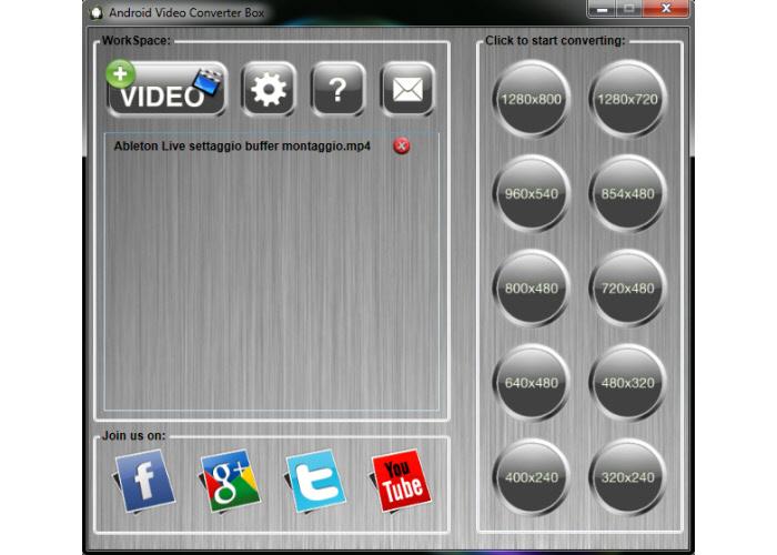 Convertire video per vederli su Android - Android Video Converter Box  Image-12