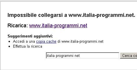 Tutto su Italia-programmi.net - truffe e minacce - Come combatterle? Italia12