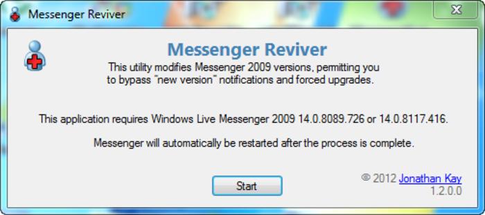 Tornare al vecchio Messanger 2009, adesso si può! - Messanger Reviver Messen10