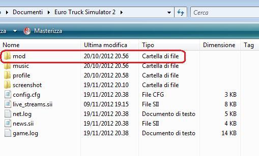 Come installare una mod in Euro Truck Simulator 2 Modets10