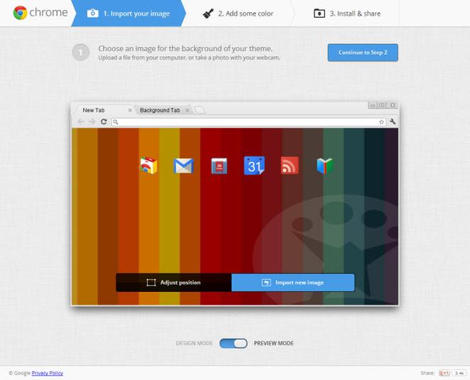 Personalizzare il proprio browser Google Chrome - My Chrome Theme My-chr10