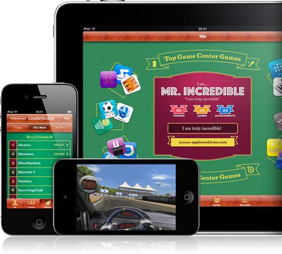 Tanti giochi per il proprio iPhone - Game Center Overvi10