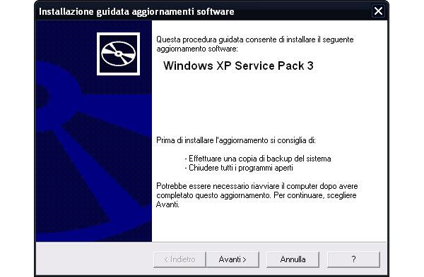 Aggiornamenti importanti Windows XP da scaricare (2 Aprile 2012) Window11