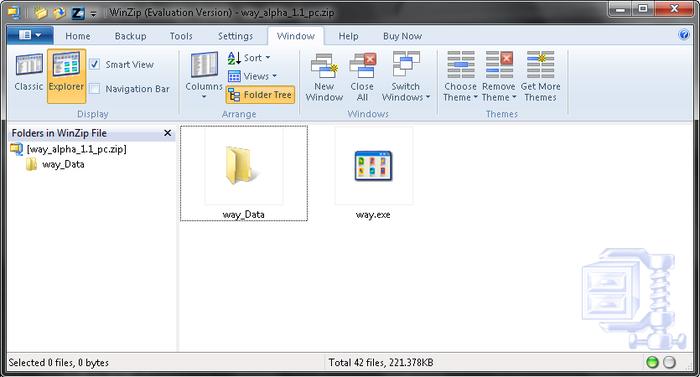 Zippare file in pochissimi passi - WinZip Winzip10
