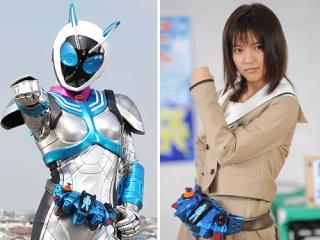 Mano Erina jouera dans le film: Kamen Rider x Kamen Rider Fourze & OOO MOVIE Taisen MEGAMAX G2011110