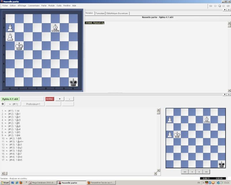Paramètrer l'accès aux tablebases de finale dans la gui Fritz Aamarc12