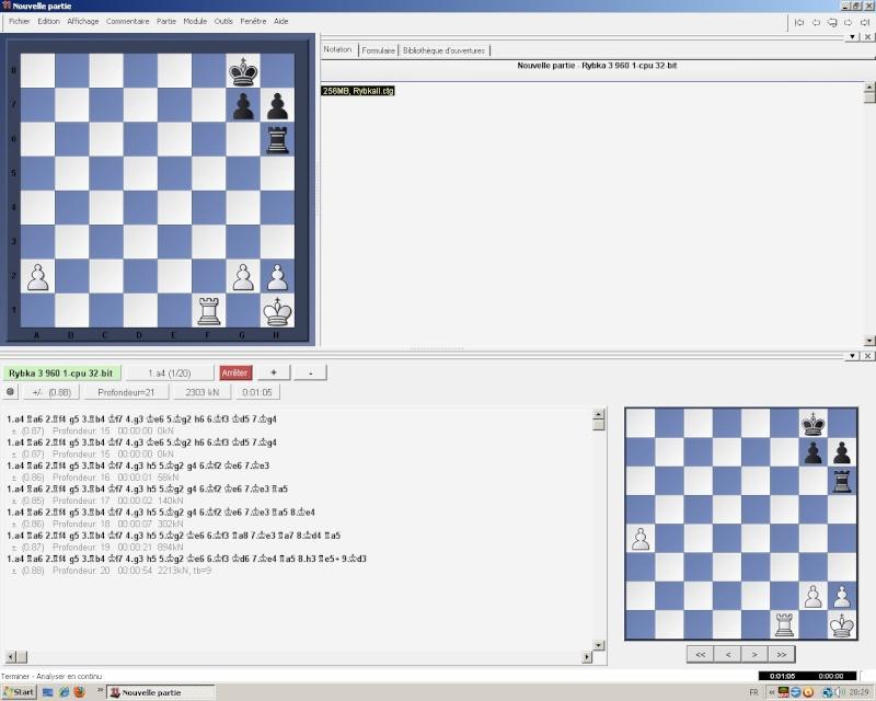 Paramètrer l'accès aux tablebases de finale dans la gui Fritz Ryb310