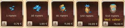 [Guide] Le prix des runes Runes10