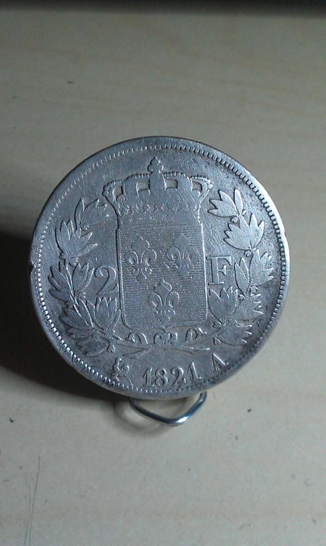 2 Francs 1821 A  Imag2316