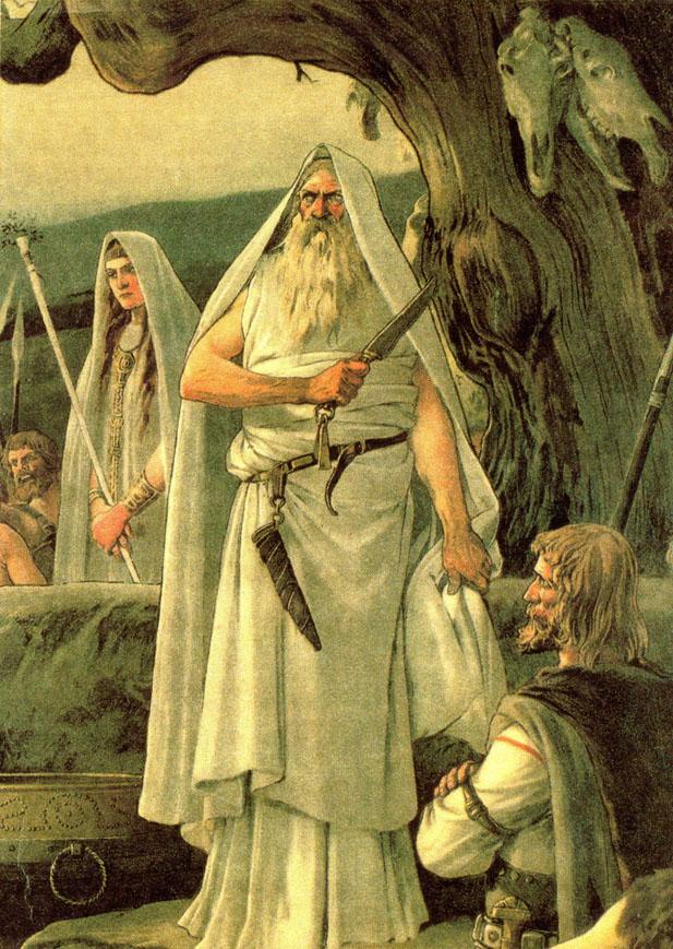 El misterioso origen de los vascos  Druida11