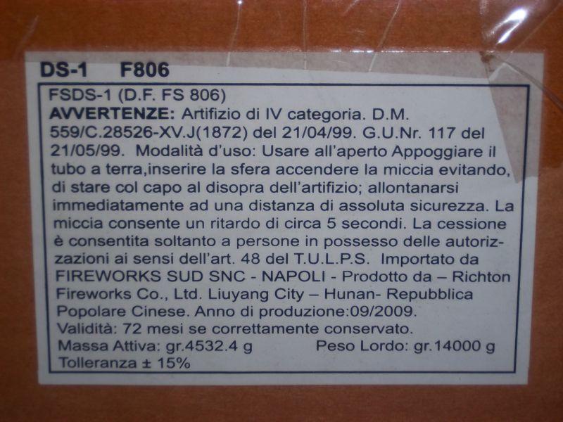 Art. f806 Pirastar 6 sfere lipori B10