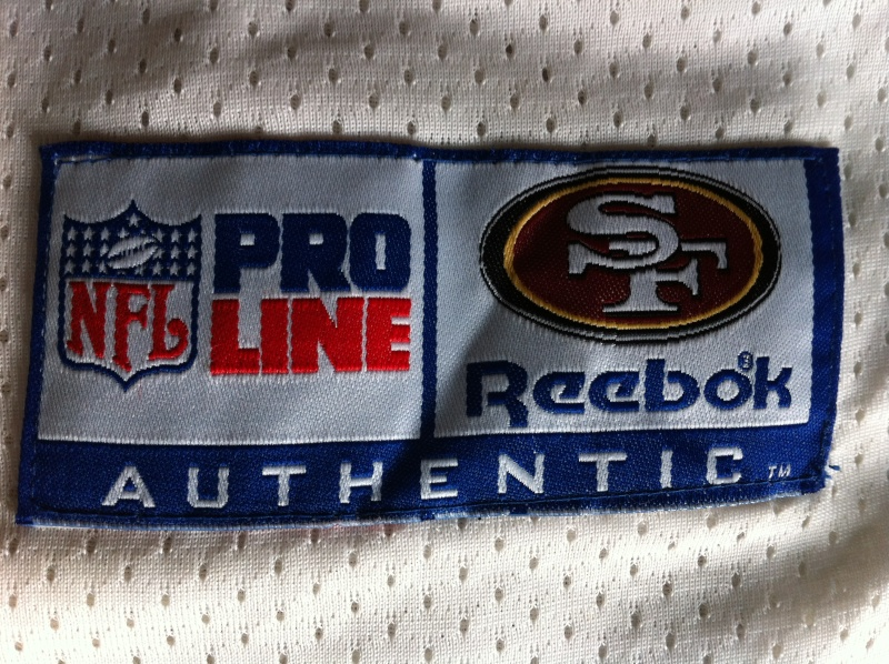 1995? Jerry Rice SF 49ers white jersey Img_0214